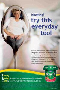Activia advertisement
