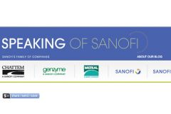 Sanofi continues pharma's trend of ditching the corporate blog