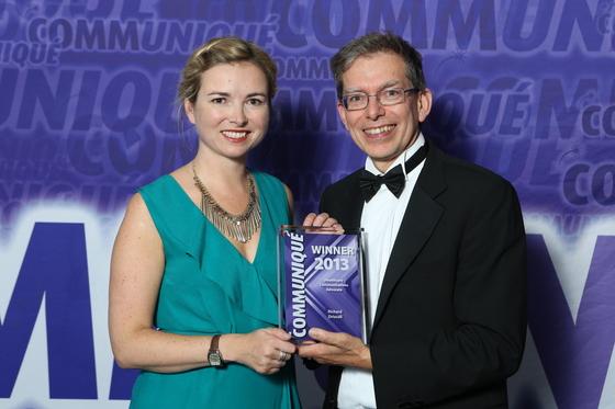 Communique Awards 2013 Richard Driscoll