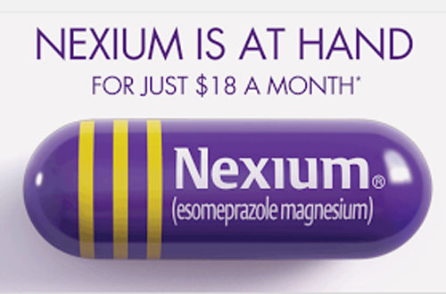 Nexium YouTube offer