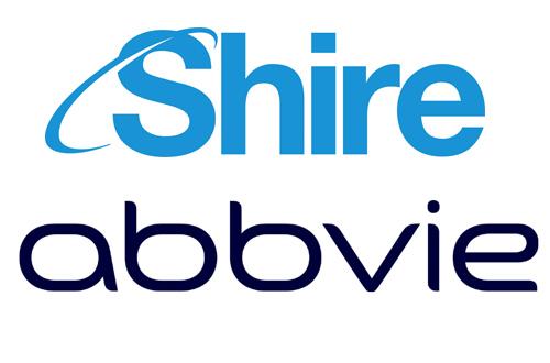 shire abbvie logos