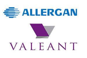 allergan valeant logos