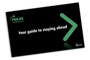 Cover of the PMLiVE user guide
