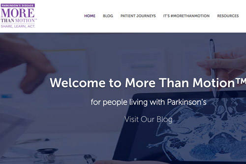 UCB More than Motion Parkinson's disease Facebook website