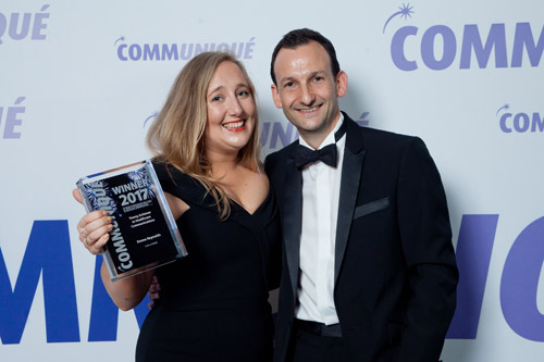 Communique Awards 2017 Young Achiever Emma Reynolds