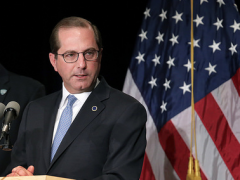 Daily Brief: Azar blasts pharma, NICE forces MS drug prices down, Xenicos gets $30m funding