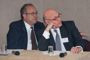 Dr David Khayat and Dr Peter Harper