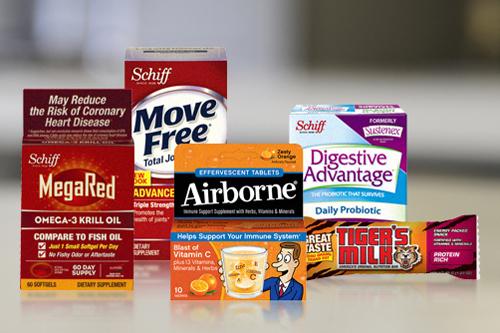 Schiff Nutrition brands
