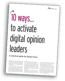 10 Ways digital opinion leaders