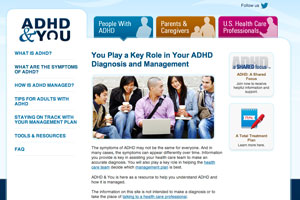 Shire, ADHD educational programme