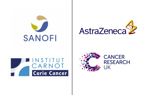 Sanofi, AstraZeneca, Curie Cancer, Cancer Research UK