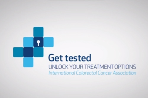 Get Tested mCRC colorectal cancer Merck Serono KGaA