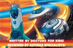 Meda collaborates on asthma comic book