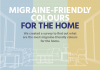 Migraine-friendly colours for the home