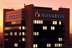 Swiss pharma company Novartis