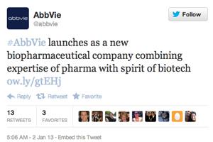 AbbVie Twitter