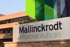 Mallinckrodt files for bankruptcy protection in the US