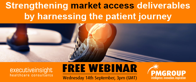 Strengthening market access deliverables by harnessing the patient journey