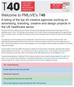 PMLiVE launches its inaugural T40