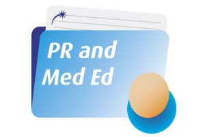 A folder for 'PR & Med Ed'