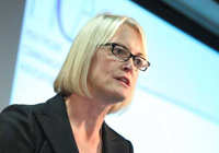 Conservative MP, Margot James, at the HCA conference