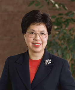 Dr Margaret Chan - director general, WHO
