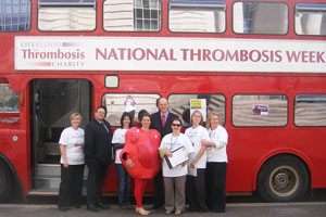 Lifeblood launched a five-city bus tour and patient education programme for National Thrombosis Week