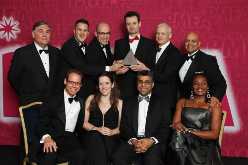The GSW Worldwide Marketing Team of the Year Award winner PMEA 2011