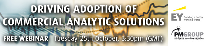 Driving adoption of Commercial Analytic solutions