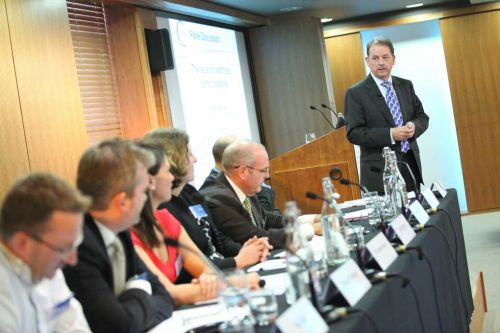 Panel discussion chaired by John Clare at the HCA Conference 2010