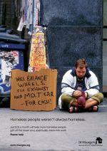 St Mungo's - beggar