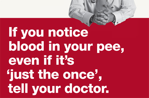 Blood in your Pee Campaign
