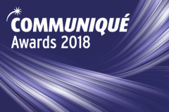 Communiqué Awards 2018 are open for entry