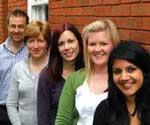 Julian Keens, Caroline Moore, Jenny Simms, Emma Danton-Rees and Saima Khan - Succinct Healthcare