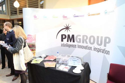 PMGroup stand at the HCA Conference 2010