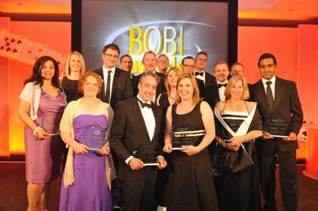 Winners of the 2011 BOBI Awards