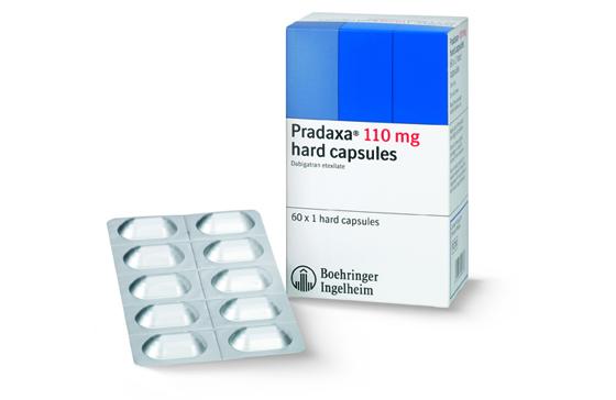 Boehringer Ingelheim Pradaxa dabigatran pack