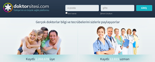 Doktor Sitesi Turkey online physician community