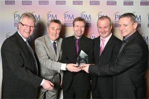 Mark Savage, Neil Smith, Kevin McGetrick, Carl Elliott and Dave Wyatt