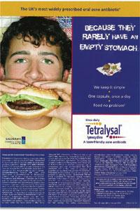 Tetralysal advertisement