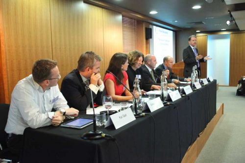 Panel discussion at the HCA Conference 2010
