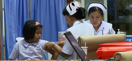 Sanofi dengue fever clinical trial Thailand