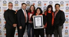 McCann Health and The Ideas Foundation break world record