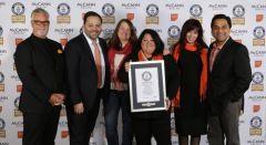McCann Health and The Ideas Foundation break world record
