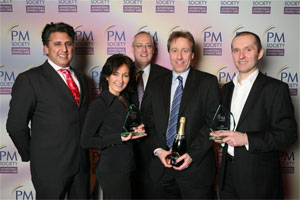 Kamran Abbasi, Sue Bone, Justin McCarthy, Richard Jameson and Phil Eaton