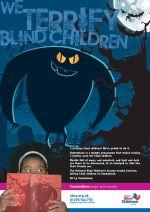 National Blind Children's Society - monster