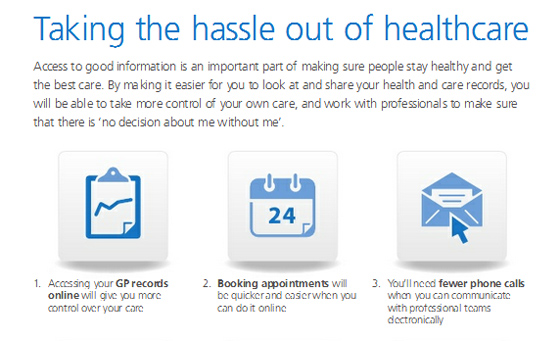 UK Department of Health Power of Information NHS plan