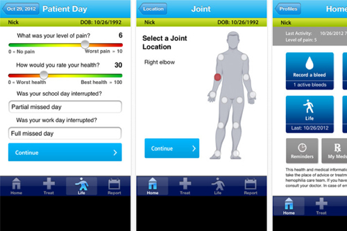 Novo Nordisk HemaGo iPhone, iPad, Android app