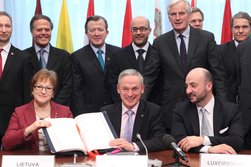 European Unified Patent Court signing