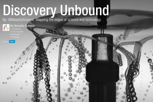 Novartis Science Discovery Unbound Flipboard magazine